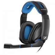 Sennheiser Cuffie Sennheiser GSP 300 Stereo Padiglione Nero Blu