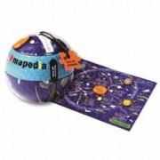Puzzle Momki 699 Mapedia Sistemul Solar 100 piese 25x35 cm