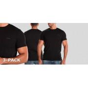 Diesel Jake Round Neck T-Shirt 3-Pack AALW-Zwart (050)-M