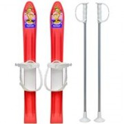 Skiuri Copii 60 Cm - Marmat - Rosu