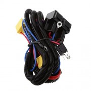 ELECTROPRIME H4 Headlight Headlamp Light Bulb Relay Wiring Harness Socket Plug Wire Kit