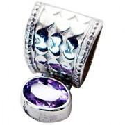 Riyo Amethyst Silver Jewellery Designs Braided Pendant L 1in Spame-2026