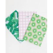 Skinnydip 3 pack notebooks-Pink - male - Pink - Size: No Size