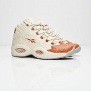 Reebok question lux Paperwhite/Brown