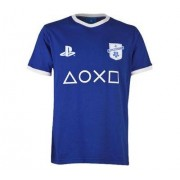 PlayStation by TOFFS TOFFS PlayStation - Symbols T-Shirt - Royaal Blauw
