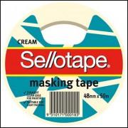 SELLOTAPE 960508 MASKING TAPE BIODEGRADABLE 48MM X 50M CREAM