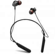 M8 Wireless Bluetooth V4.1 Neckband Sport Earphone Headset with Magnet Attraction - Black