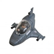 Battlestar Galactica Series 1 Mini Vehicles Mark VII Viper with Exclusive Brendan Hot Dog Costanza
