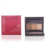 Shiseido LUMINIZING SATIN eye color trio #BR209-voyage