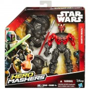 Star Wars, Figurina Deluxe Hero Mashers - Darth Maul