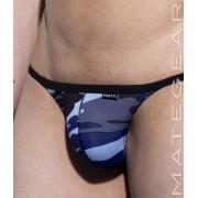 Mategear Nam Woo Thin Nylon Special Fabric Series Signature Mini Bikini Underwear Blue Camo 1860706
