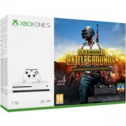 Конзола Xbox One S 1TB, Бяла + Playerunknown`s Battleground, PUBG