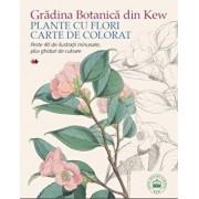 Gradina Botanica din Kew. Plante cu flori - Carte de colorat/***