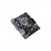 T. Madre ECS H310H5-M2, Chipset Intel H310, Soporta, Core i7 / i5 / i3 / Pentium / Celeron de 8va. Gen., Socket 1151, Memoria, DDR4 2666/2400 MHz, 32GB Max, Integrado, Audio HD, Red, USB 3.0, SATA 3.0 y M.2, Micro-ATX, Ptos, 1xPCIE 3.0 x16.