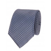 Navy & Box Design Tie