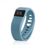 IBS fbandz TW64 Fitness Band Smart Health Bracelet Bluetooth Wristband Fashionable Activity Tracker (Grey)