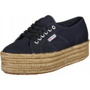 Superga 2790 Cotropew Damen Schuhe blau Gr. 35,0