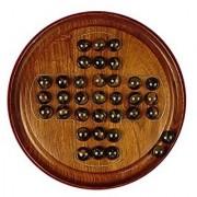 Chopra Chess Inc Wooden Solitaire Multi Color