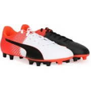 Puma evoSPEED 5.5 FG Football Shoes(Red, White, Black)