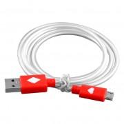 Červený svietiaci LED USB kábel