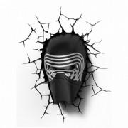 3d-light-fx 3D Light FX Star Wars Lâmpada 3D LED Kylo Ren