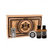 DEAR BARBER Beard Oil confezione regalo olio barba 30 ml + cera baffi Moustache Wax 25 ml + eau de toilette With Confidence 30 ml uomo
