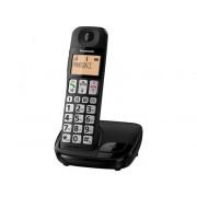 Panasonic Teléfono Fijo para Mayores PANASONIC KX-TGE310 Negro