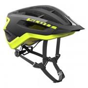 Scott Fuga Plus - casco bici - Black/Yellow