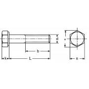 šroub M20x65 ŽÁROVÝ ZINEK 10.9 šestihranný pro ocelové konstrukce - V - DIN 6914 / EN 14399 - 4