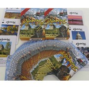 Wyoming, Souvenir Playing Cards, Vacation Gift. Card Faces Feature Multiple Landmarks, Ousttanding T