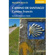 Camino de Santiago: Camino Frances. Guide and map book - includes Finisterre finish, Paperback/The Reverend Sandy Brown