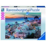 Ravensburger puzzle noaptea in santorini, 1000 piese