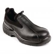 Lites Safety Footwear Lites Unisex Cushioned Slip On Black 42 Size: 42