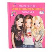 Vriendschapsboek TopModel roze 22 cm