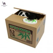 Ola Panda Thief toy piggy banks gift kids money Automatic Stole Coin Piggy Bank boxes Money Saving drop shipping