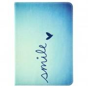 Capa em Pele Folio para iPad Mini, iPad Mini 2 e iPad Mini 3 - Smile