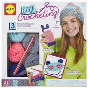 Alex Toys Craft Cool Crocheting Kit, Multi Color