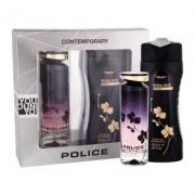 Police - Dark edt 100ml + tusfürdő 250ml (női parfüm szett)