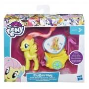 My Little Pony, Figurina cu vehicul pentru Gala - Fluttershy
