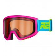 RELAX SLIDER Dětské lyžařské brýle HTG30A růžová