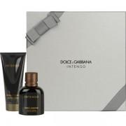 Dolce&Gabbana Pour Homme Intenso Комплект (EDP 75ml + AS Balm 100ml) за Мъже