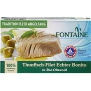 File de Ton in Ulei de Masline Bio 120gr Fontain