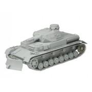 1/35 WW.II German Panzer IV B type w/snow removal dozer