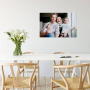 YourSurprise Foto op aluminium - Wit (ChromaLuxe) - 75 x 50