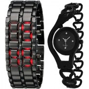 NEW BRAND STYLISH WATCH SET FOR COUPLE MADE FOR EACH OTHER Analog-Digital Watch - For Girls Men Women Boys Couple
