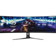 "ASUS - 49"" LED Curved FHD FreeSync Monitor with HDR (DisplayPort, HDMI, USB) - Black"