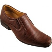 Action Synergy Fashion Line Pn9903 Slip On Shoes For Men(Brown)