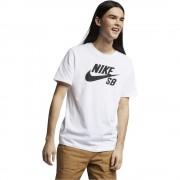 Tricou Nike Sb Dry Tee Logo White/Black