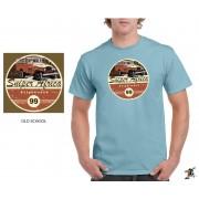"Sniper Men ""Old school"" T-Shirt (Sky Blue)"