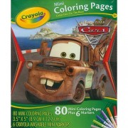 Crayola Mini Colouring Pages - Disney Cars, Multi Color